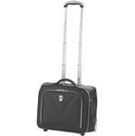 Atlantic Luggage COMPUNITE Wheeled Carry-On Tote-Black Compass Unite W