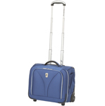 Atlantic Luggage COMPUNITE Wheeled Carry-On Tote-Blue Compass Unite Wh