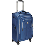 """""""Atlantic Compass Unite, 25""""""""- Blue Brand New Includes Limited Lifetime Warranty, The Atlantic Compass Unite - 25"""""""" Expandable Spinner Suiter features Link2Go which allows youto connect two pieces of luggage back to back with velcro straps so you can roll two pieces with one hand"""