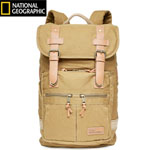 """""""The Travelpro Nat Geo Cape Town Daypack brings together vintage styling with abundant storage and durable canvas fabric that is perfect for today's traveler"""