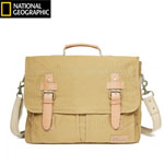 """The Travelpro Nat Geo Cape Town Messenger Bag has flap-over design with antique buckle closures that keeps contents secure"
