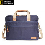 Travelpro Ngct Double Gusset Brief-navy Nat Geo Cape Town Duoble Gusse