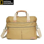 """Travelpro National Geographic - Khaki Brand New Includes Limited Lifetime Warranty, The Travelpro Nat Geo Cape Town Double Gusset Brief has main compartment which is ideal for storage of a tablet, filefolders and power cords"