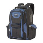 Travelpro T-pro Bold Computer Backpack-black/blue T-pro Bold Computer