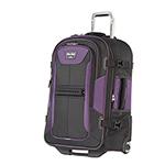 Travelpro T-Pro Bold 25 Inch Exp Rollaboard-Black/Purple T-Pro Bold 25
