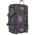 Travelpro T-Pro Bold 30 Inch Rolling Duffel-Black/Purple T-Pro Bold 30