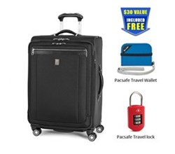 Travelpro Check in Spinners 4 Wheels Platinum magna 2 25 inch Exp Spinner Suiter