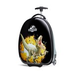 Travelpro 16inch Kids Hardside Jurassic World - Yellow Carry-on Luggag