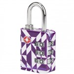 Travelon TSA Luggage Lock-Purple Diamond TSA Luggage Lock
