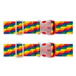 Travelon Set of 2 Luggage Strap - Rainbow Luggage Strap