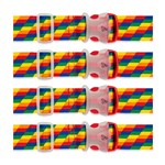 Travelon Set of 4 Luggage Strap - Rainbow Luggage Strap