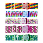 Travelon Set of 5 Luggage Strap - Multi-Color Luggage Strap