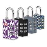 Travelon Set of 4 TSA Luggage Lock(Multicolor) TSA Luggage Lock