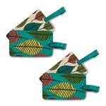 Travelon Set of 2 Lugg Tags - Leaves (2-Pack) Set of 2 Luggage Tags