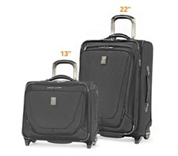 Travelpro 2 Piece Sets travelpro crew11 22 rollaboard rolling tote