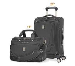 Travelpro 2 Piece Sets travelpro crew11 21 spinner deluxe tote