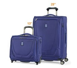 Travelpro Luggage Sets travelpro crew11 25 spinner rolling tote indigo
