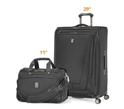 Travelpro Luggage Sets travelpro crew11 29 spinner deluxe tote black