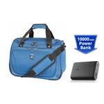 Travelpro Unite 2 Soft Tote With Powercore 10000 Blue Unite 2-soft T