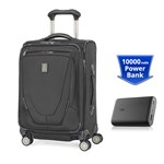Travelpro Crew 11 Intl With PowerCore 10000 - Black Crew 11 Intl Carry