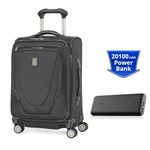 Travelpro Crew 11 Intl With PowerCore 20100 - Black Crew 11 Intl Carry