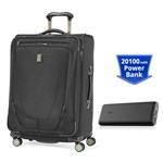 Travelpro Crew 11 25 inch With PowerCore 20100- Black Crew 11 25inch E