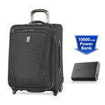 Travelpro Crew 11 20 inch With PowerCore 10000 - Black Crew 11 20inch
