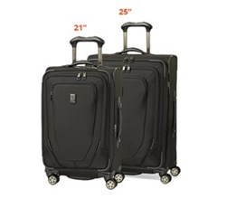 Travelpro 2 Piece Sets travelpro crew 10 spinner suiter 21inch 25 inch