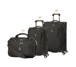 Travelpro 3 Piece Sets travelpro crew10 21 spinner 25 spinner and tote set